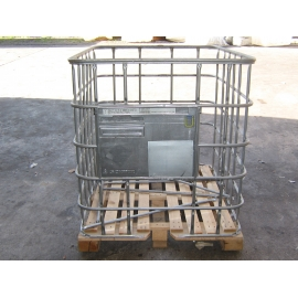 Reconditioned IBC Cage - Wood