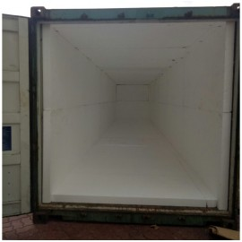 Polyfoam in 40' Container