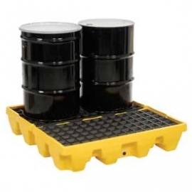 4-Drum Low Spill Pallet