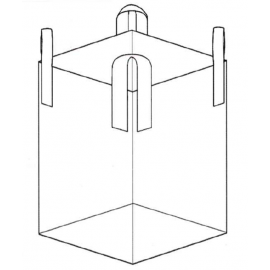 Open Top Closed Bottom Bulk Bag