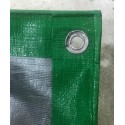 PE Green Silver Canvas Sheet
